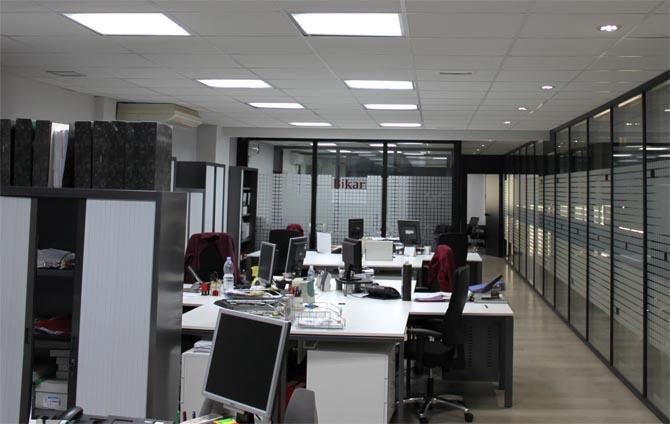Liderlighting liderled servicios y productos for Iluminacion de oficinas